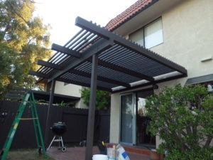 Custom Wood Pergola / Patio Cover, Pasadena 91104, built by WoodFenceExpert.com
